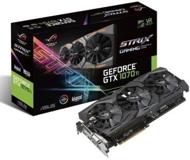 Asus Strix Adv GTX 1070ti gpu card