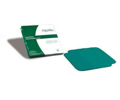 Prehma Dental Dam 5x5 Or 6x6 Latex Infection Control Safe 52pk. Or 36pk.