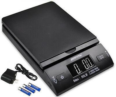 Accuteck 50lbx0.2oz All-in-one Pt50 Digital Shipping Postal Scale Wac Postage