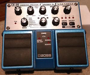 Boss CE-20 Chorus Ensemble guitar pedal