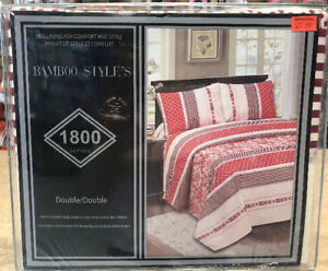 BAMBOO STYLES 1800 SERIES BED SHEET FOR $19.99