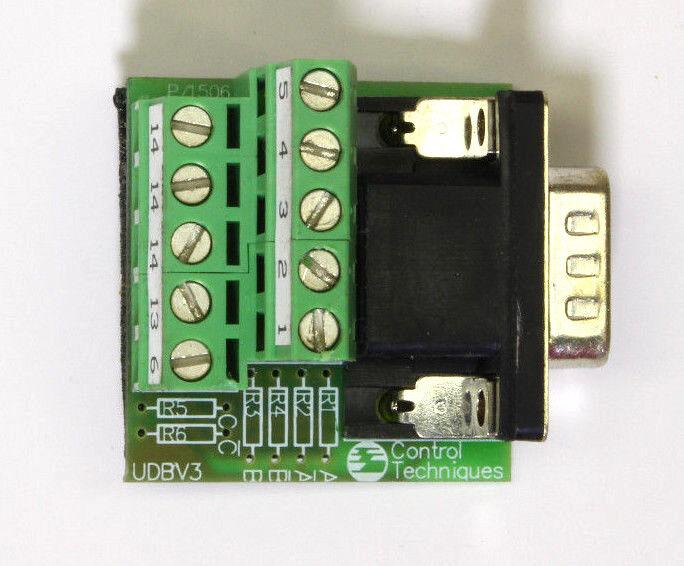 Udbv3 Module For Control Techniques Unidrive Bv3 P/1506 Uni Terminal Block
