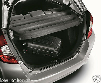 Genuine OEM Honda Fit Black Cargo Cover 2015   2019 Rear Shelf