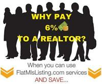 Flat Fee MLS Listing Services Can Save You Money.