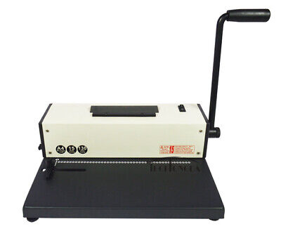 Coil Binding Machine Manual Round Hole Punch 41 46 Holes Binder With Electric C