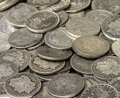 Morgan Silver Dollar US Coin Lot, Circulated, Choose How Many! FREE SHIPPING!