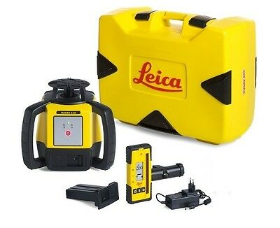 Rotating Laser Leica Rugby 610 W Rod 140 Li-ion Package 6008613