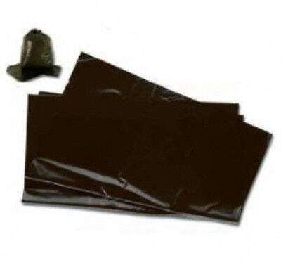 20x Large Black Plastic Bin Refuse Bags Sacks Liners Strong Heavy Duty 18x29x39
