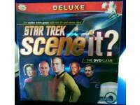 STAR TREK SCENE IT DELUXE EDITION DVD BOARD GAME
