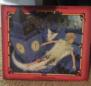 Peter Pan pop up book with sounds Kitchener / Waterloo Kitchener Area image 1