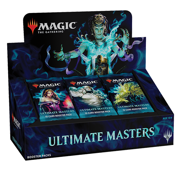 MTG Magic the Gathering Ultimate Masters Booster Box w/Ultimate Box Topper Dec 7