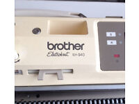 Brother electronic knitting machine KH-940