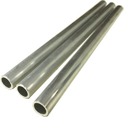 Aluminum Round Tubing - .510 - .520 Od X .050 - .060 Wall X 8-38 Long