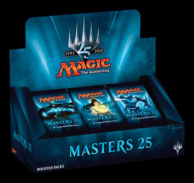 Sealed Magic the Gathering Masters 25 Booster Box MTG M25 Preorder -Kid Icarus-