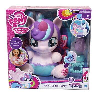 My Little Pony BABY FLURRY HEART sprechende Babypuppe Plüsch-Puppe Einhorn Horn ()