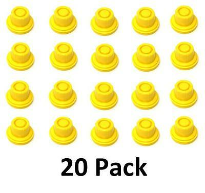 20pk Blitz Replacement Yellow Spout Cap Top Fuel Gas Can  900302 900092 900094