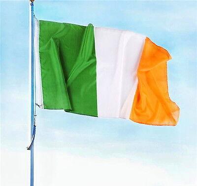 IRISH FLAG LARGE 3 X 5 FOOT IRELAND EIRE INDOOR OUTDOOR WITH
