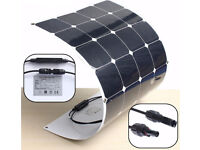 Semi Flexible Solar Panel 100W, 12V