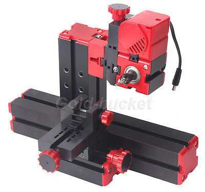 Mini Milling Machine Lathe Diy Tool Motorized Woodworking Model Making Carpenter