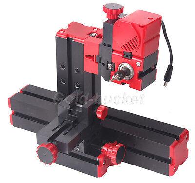 Mini Milling Machine Lathe Diy Tool Motorized Woodworking Model Making Carpenter
