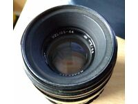 """Helios 44-2 58mm f/2 Prime RARE/VINTAGE """"Russian"""" Lens + M42 adapter"""