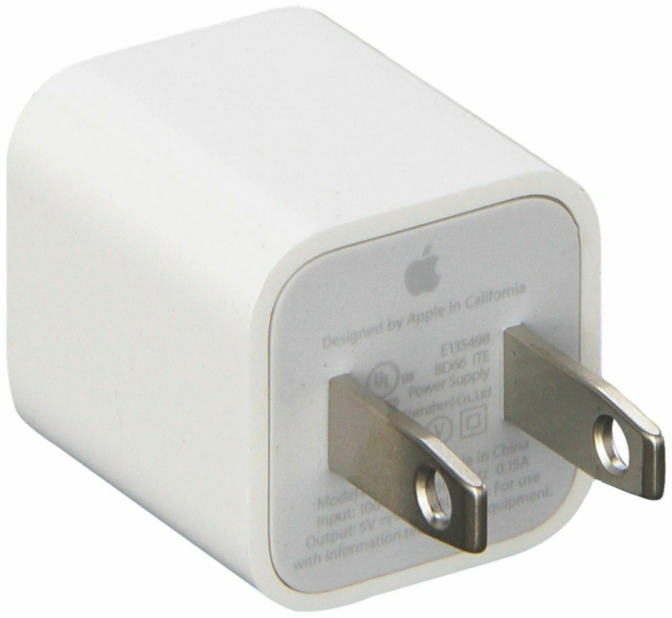 New 2 PCS USB Wall Charger Adapter Cube A1385 for Apple iPho