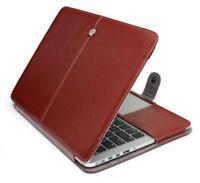 84b7334559c Geeek Leather Slim Sleeve MacBook Pro 13 inch Bruin