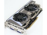 MSI 1GB GeForce GTX 560 Ti Twin Frozer II NVIDIA Graphics Card