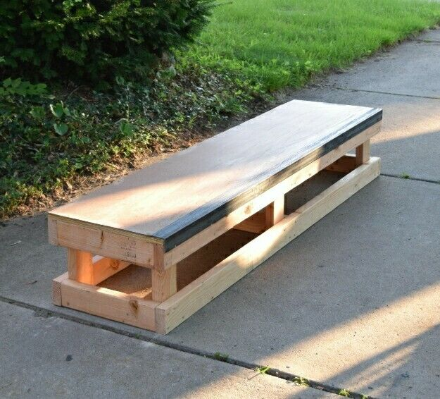 Skateboard Grind Box For Scooters Bikes And Skating Ramp