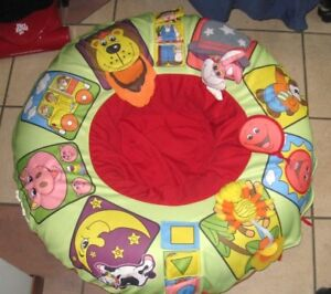 Gently used Galt Playnest Inflatable Ring with removable cover
