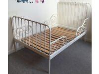 Ikea white Single day bed/frame
