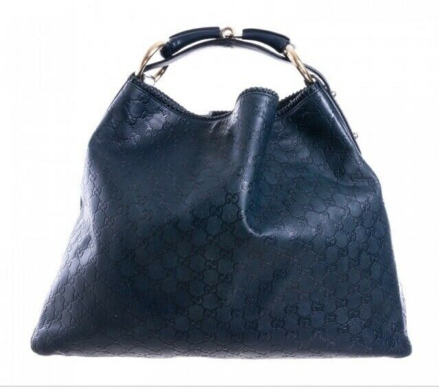 1877b0f7ec96 Authentic Gucci Guccissima large horse bit hobo bag ex condition | in ...
