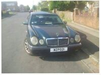 For sale or swap left hand drive Mercedes e280 Lpg gas , car have mot full paper start and drive