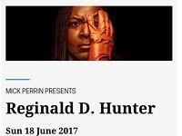2 * tickets to Reginald D Hunter in Exeter Northcott Theatre