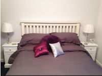 Head board for double bed - excellent condition