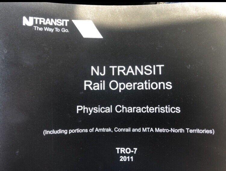 NJ Track chart Book