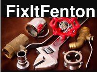 Plumbing services (FixItFenton)