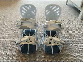 Rome Targa Snowboard Bindings size S/M