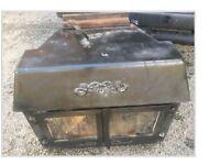 Old wood burner