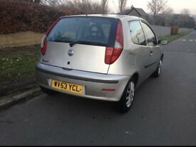 Bargain low mileage Punto 1.2 cheap tax and insurance Drive Away