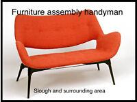 Furniture assembly flatpack handyman service B&Q, Homebase, IKEA, Argos ,John Lewis