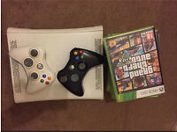 Xbox 360 with 2 Controllers and 11 Games