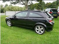 Vauxhall Astra 1.7 Sri Coupe black 2008