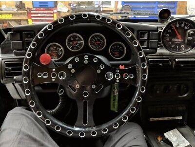 "13.5"" Super Max Lightweight Drag Racing Performance Steering Wheel 5-Bolt"
