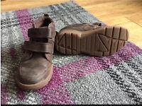 Boys Clarkes brown boots