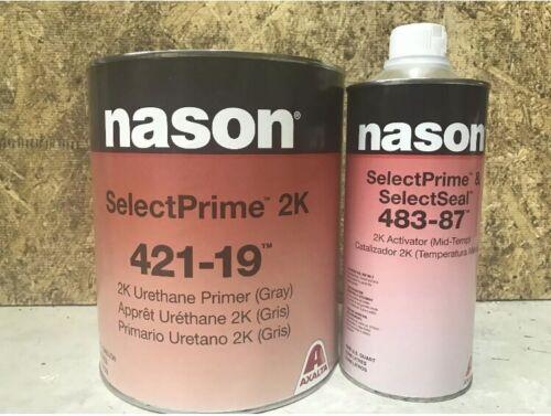 Nason 2K Urethane Primer Kit Gray