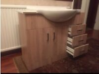Brand new vanity basin and sink