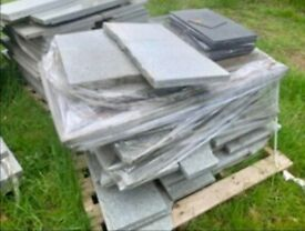 Indoor or outdoor Marble Paving Slabs approx 40 m square