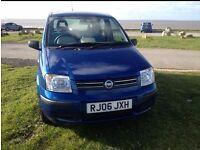 06 FIAT PANDA 1.2 DYNAMIC 5 DOOR IN BLUE METALLIC ONLY 20K 1 OWNER FROM NEW CHEAPER TAX & INSURANCE