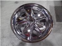 """17"""" chromed alloy wheel Volkswagen"""